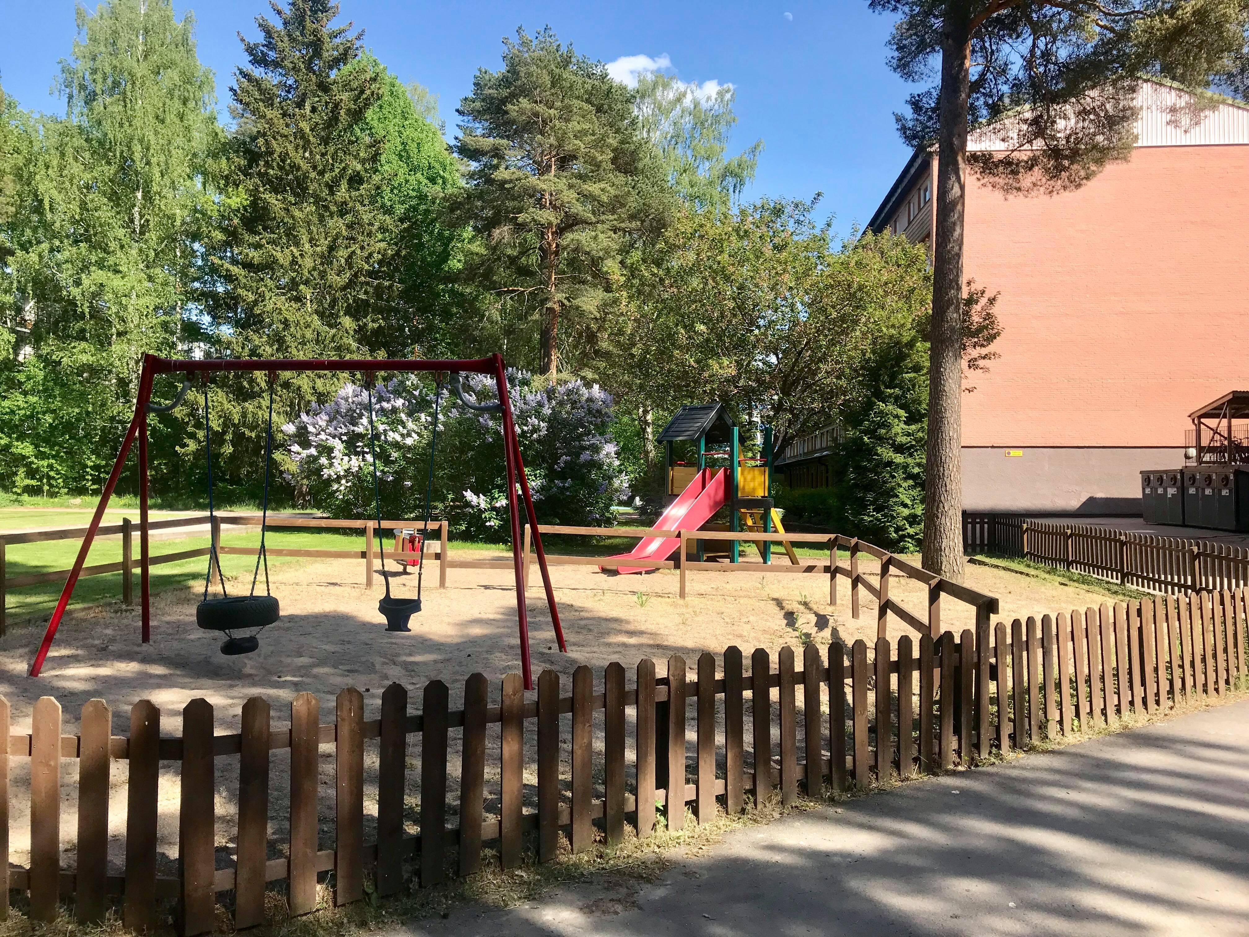 Lekplats för barnen i föreningen